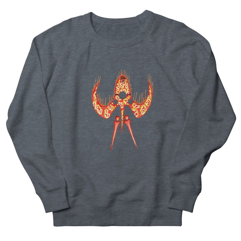 Trip Orange Women's French Terry Sweatshirt by Natou's Artist Shop