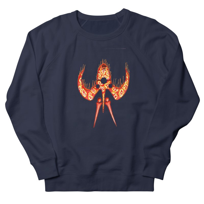 Trip Orange Men's French Terry Sweatshirt by Natou's Artist Shop