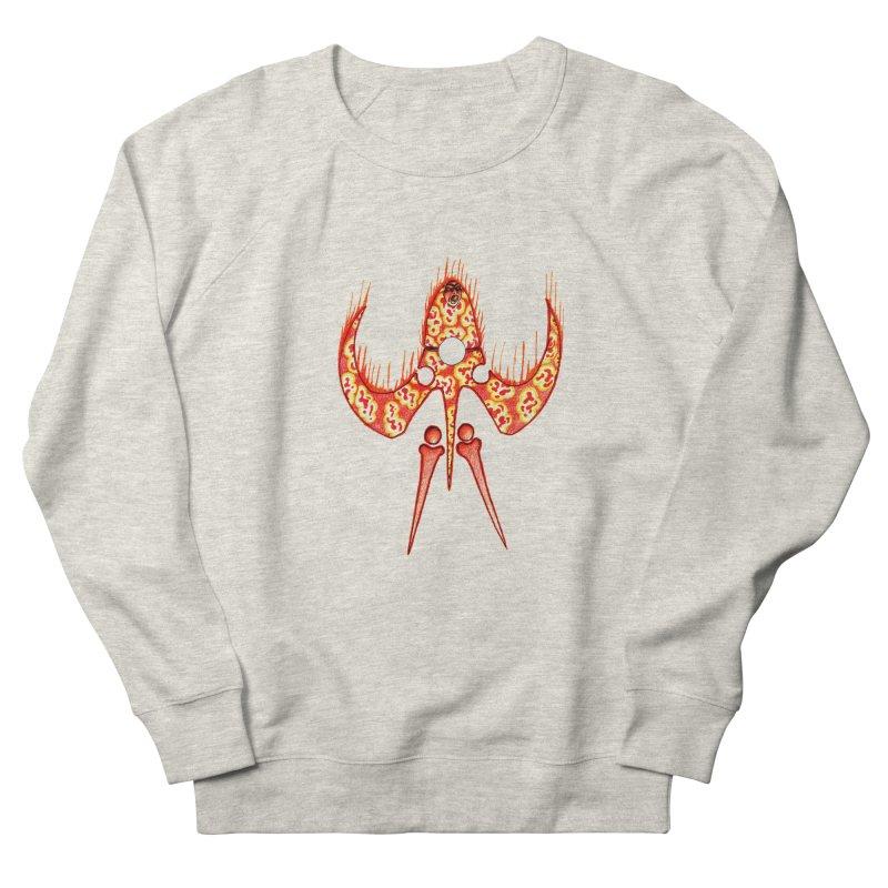 Trip Orange Men's French Terry Sweatshirt by Natou's Artist Shop