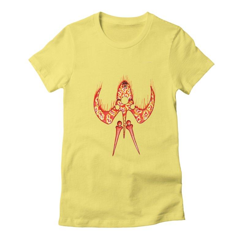 Trip Orange Women's T-Shirt by Natou's Artist Shop
