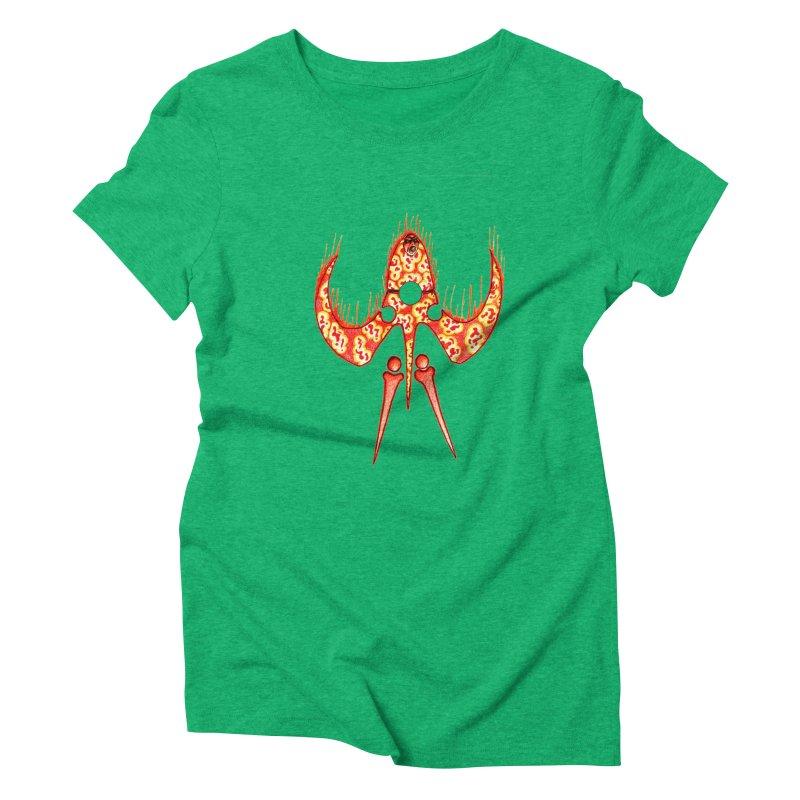 Trip Orange Women's Triblend T-Shirt by Natou's Artist Shop
