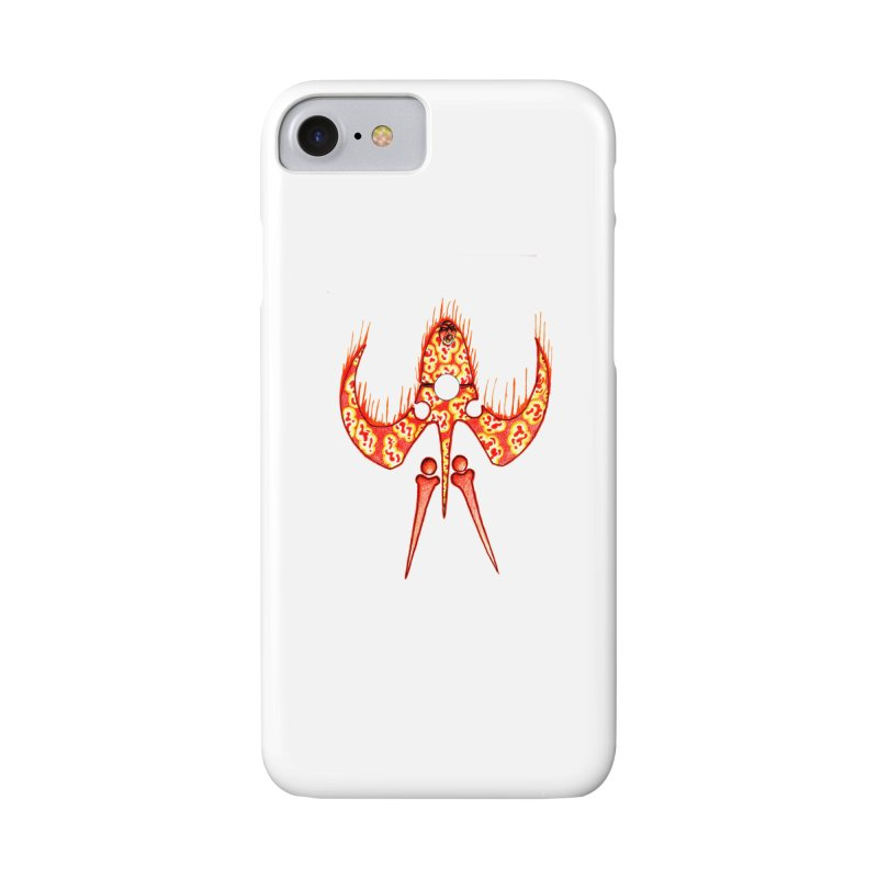 Trip Orange Accessories Phone Case by Natou's Artist Shop