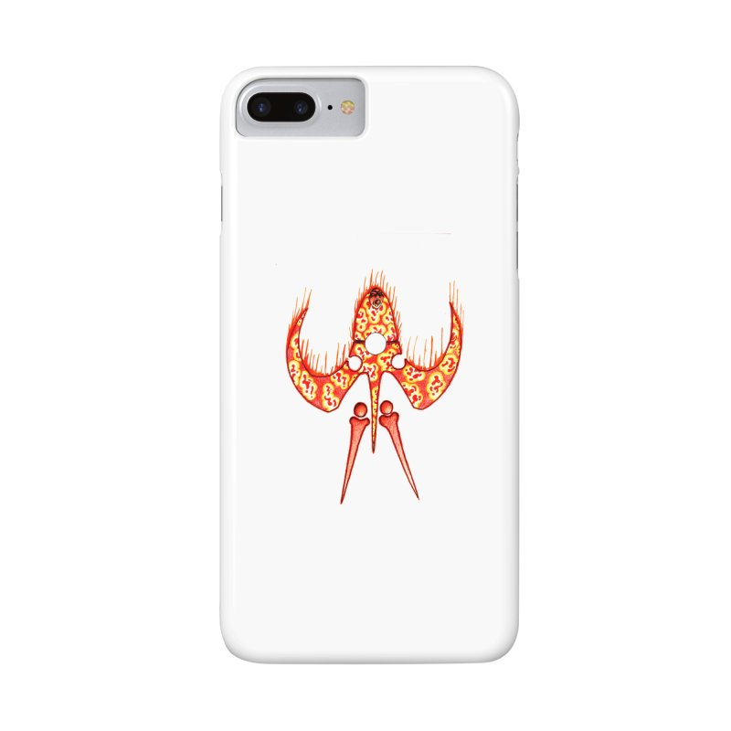 Trip Orange Accessories Phone Case by Natou's Artist Shop