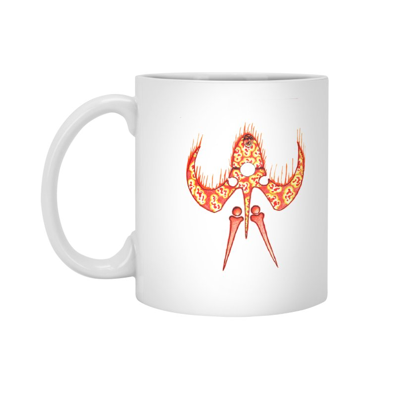 Trip Orange Accessories Mug by Natou's Artist Shop