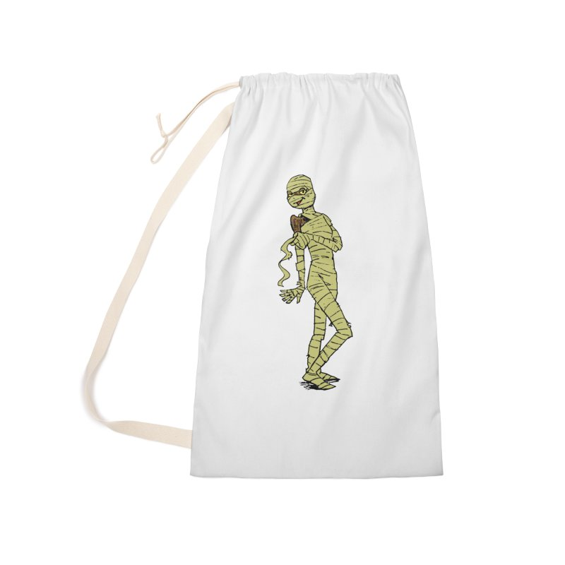Mimi Mummy Accessories Laundry Bag Bag by Natou's Artist Shop