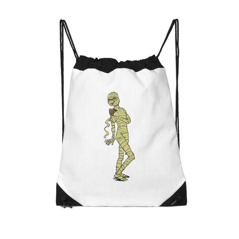Mimi Mummy Accessories Drawstring Bag Bag by Natou's Artist Shop