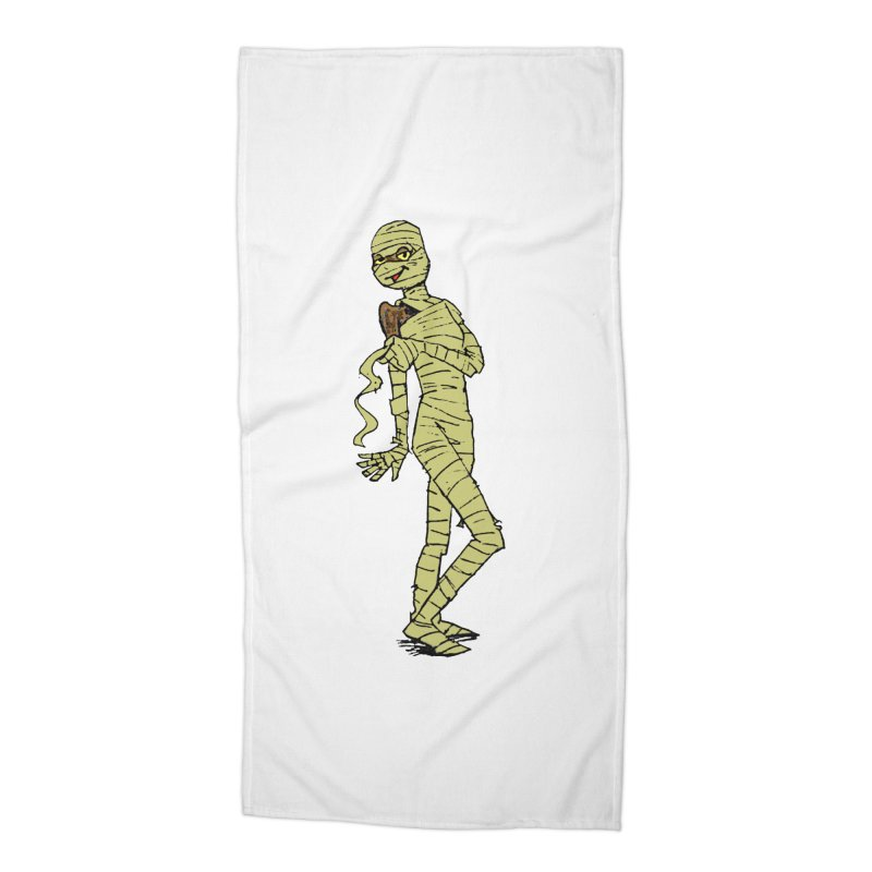 Mimi Mummy Accessories Beach Towel by Natou's Artist Shop