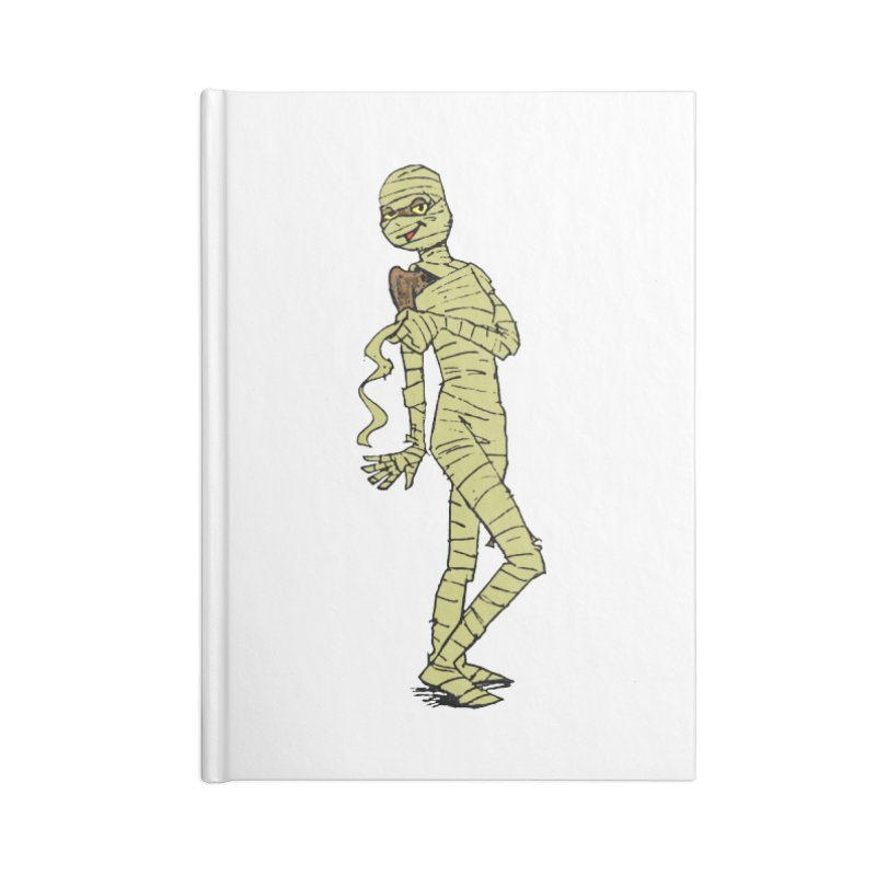 Mimi Mummy Accessories Lined Journal Notebook by Natou's Artist Shop