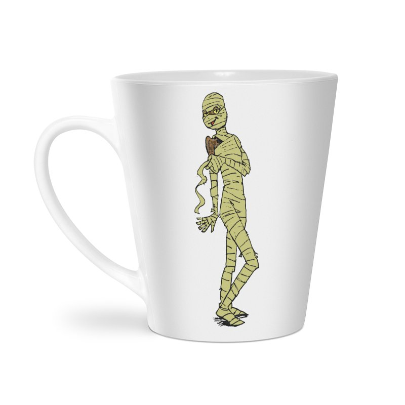Mimi Mummy Accessories Latte Mug by Natou's Artist Shop
