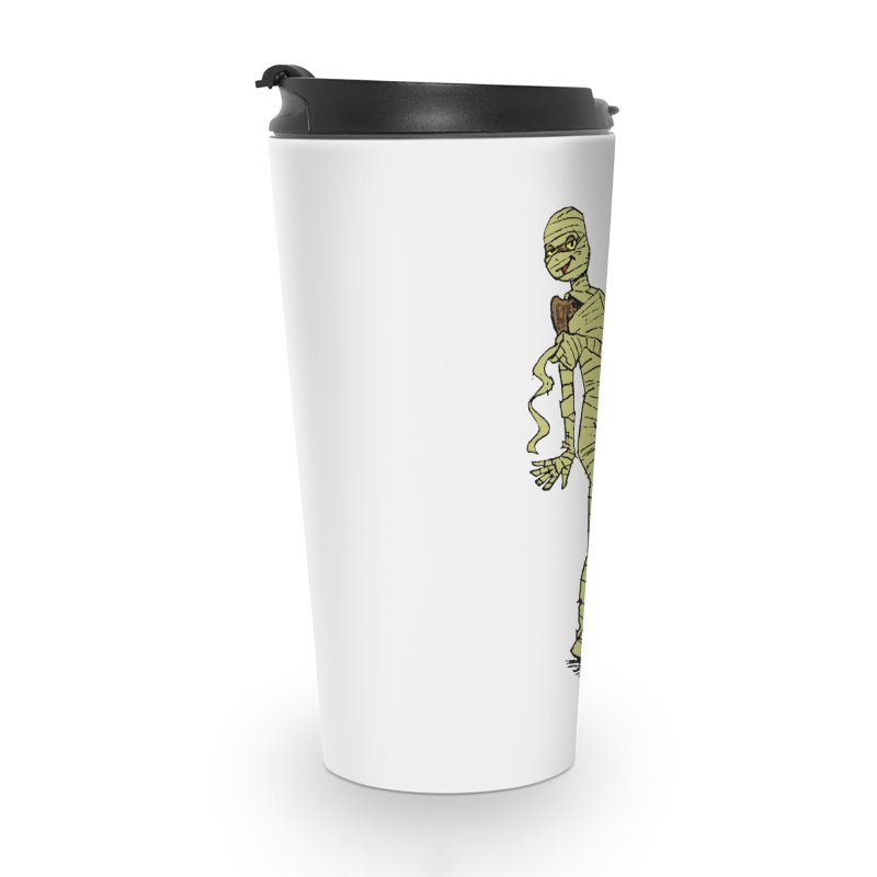 Mimi Mummy Accessories Travel Mug by Natou's Artist Shop