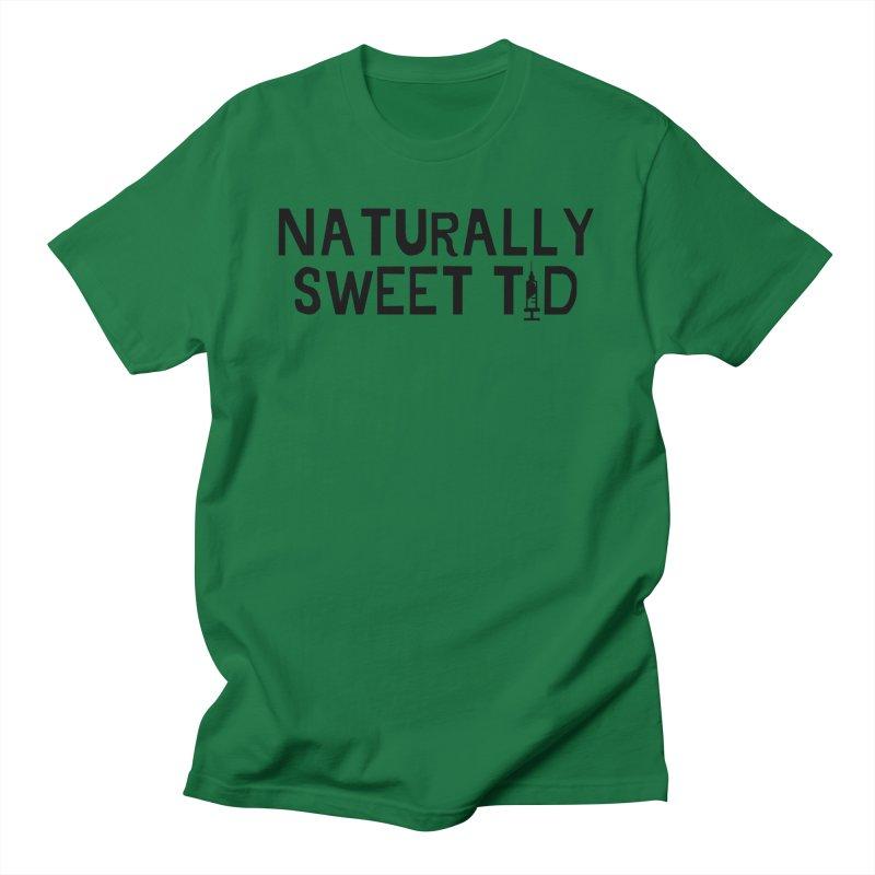 Black NST1D Men's T-Shirt by naturallysweett1d's store