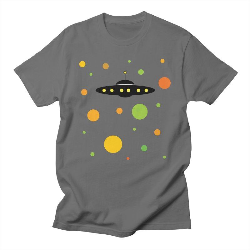 Saucer of Secrets (Gravity 1) Men's T-Shirt by Nat Whitten Incorporated Souvenir Shop & Bazaar