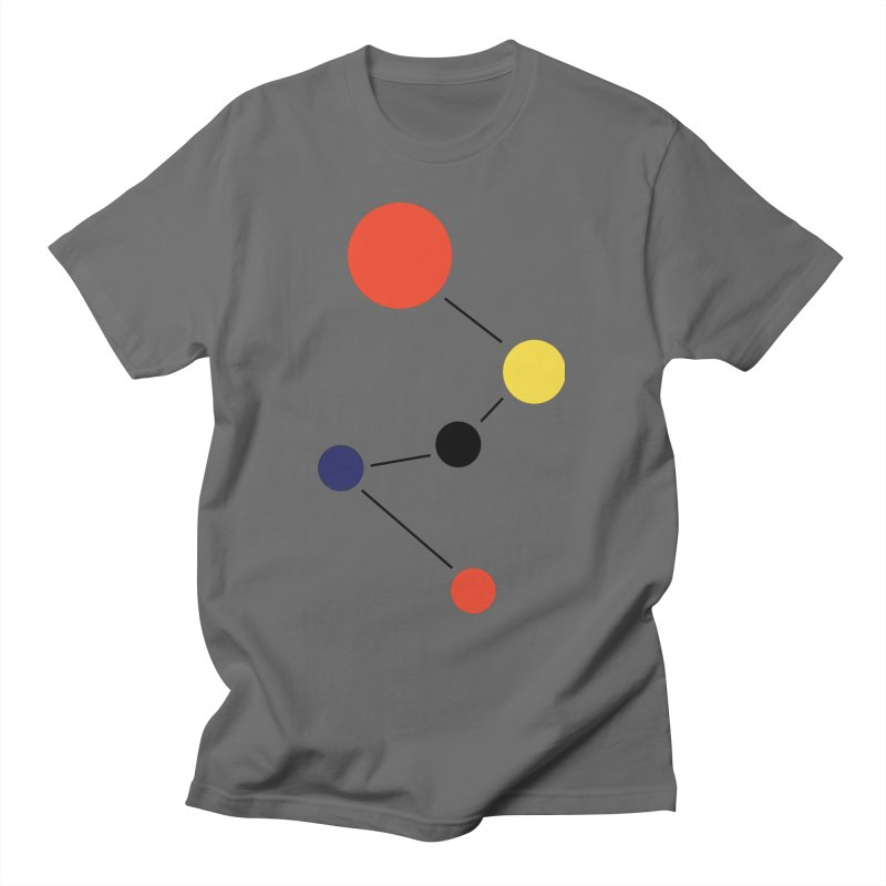 Org Chart  Men's T-Shirt by Nat Whitten Incorporated Souvenir Shop & Bazaar