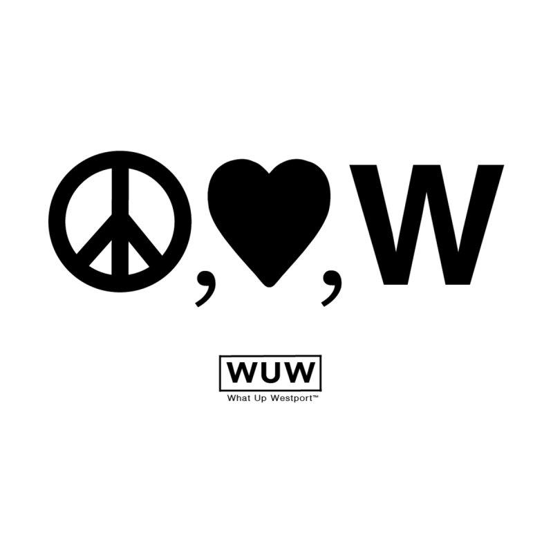 Peace, Love, Westport Kids Toddler Zip-Up Hoody by Nat Whitten Incorporated Souvenir Shop & Bazaar