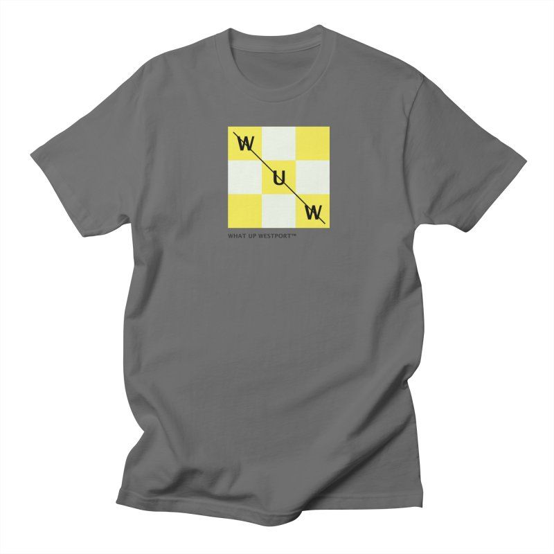 Tic, Tac, Westport Men's T-Shirt by Nat Whitten Incorporated Souvenir Shop & Bazaar