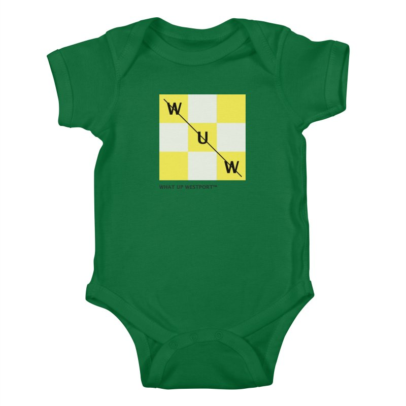 Tic, Tac, Westport Kids Baby Bodysuit by Nat Whitten Incorporated Souvenir Shop & Bazaar