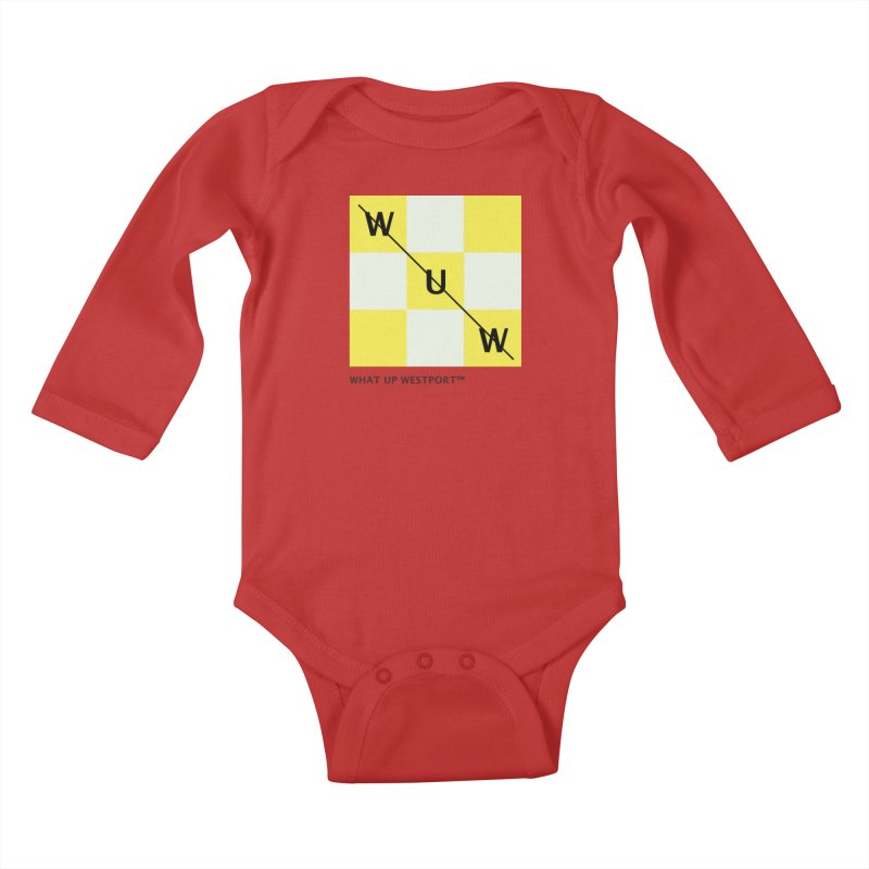 Tic, Tac, Westport Kids Baby Longsleeve Bodysuit by Nat Whitten Incorporated Souvenir Shop & Bazaar