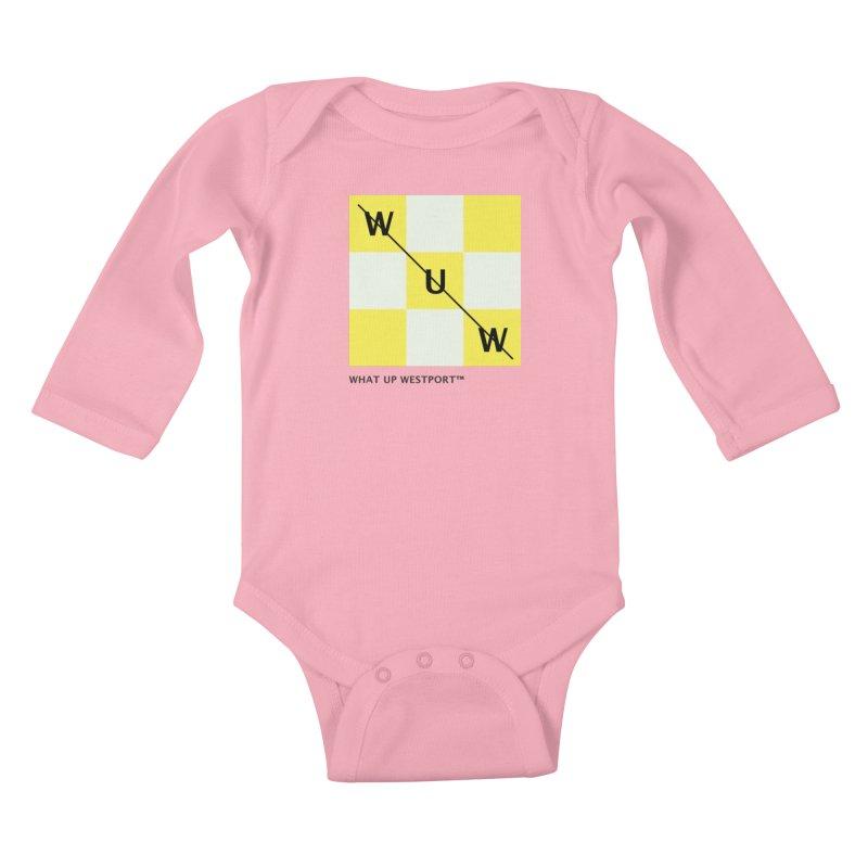 Tic, Tac, Westport Kids Baby Longsleeve Bodysuit by Nat Whitten Incorporated Souvenir Shop & Bazaar