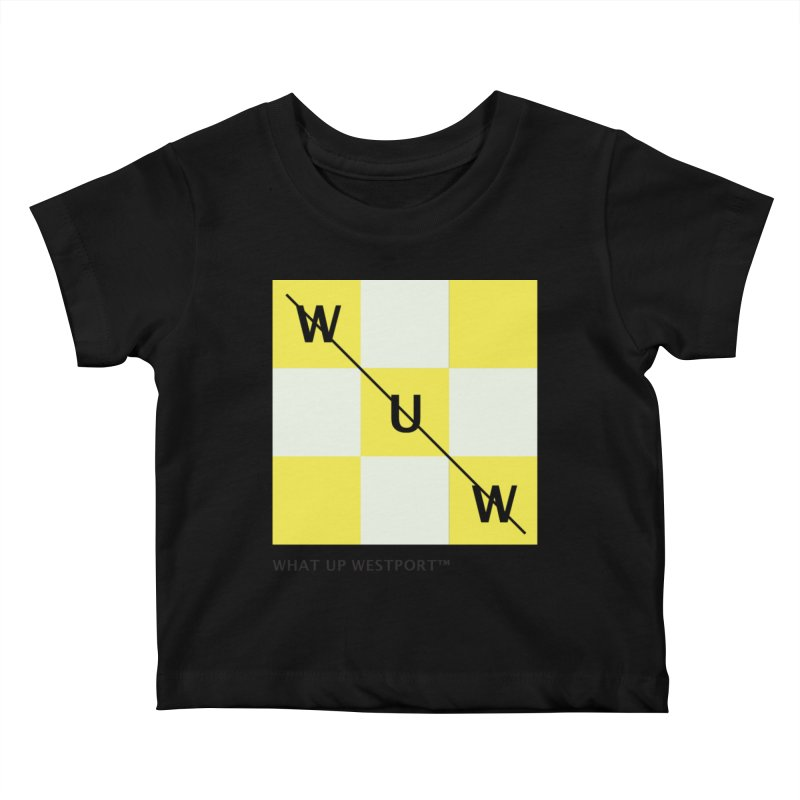 Tic, Tac, Westport Kids Baby T-Shirt by Nat Whitten Incorporated Souvenir Shop & Bazaar