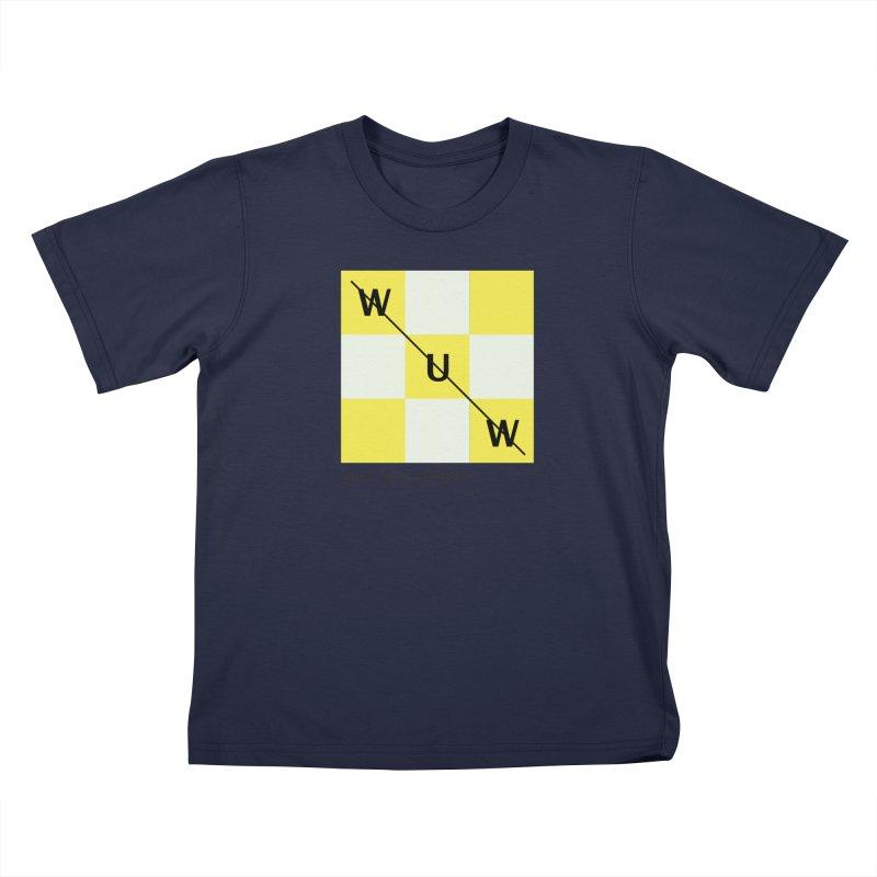 Tic, Tac, Westport Kids T-Shirt by Nat Whitten Incorporated Souvenir Shop & Bazaar