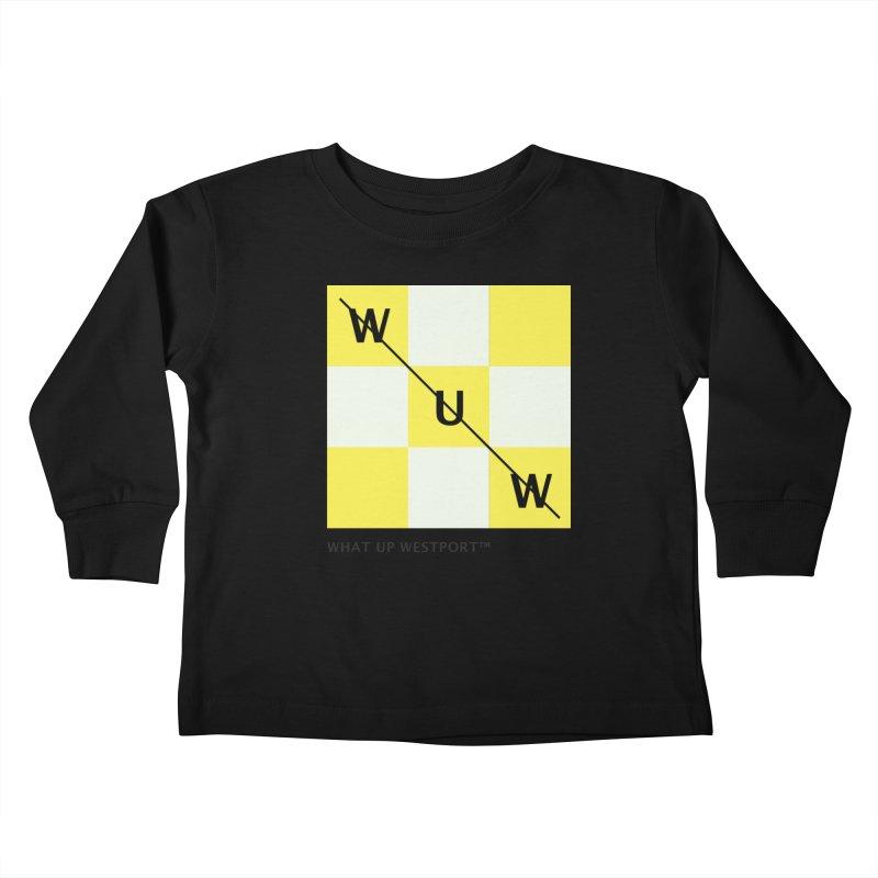 Tic, Tac, Westport Kids Toddler Longsleeve T-Shirt by Nat Whitten Incorporated Souvenir Shop & Bazaar