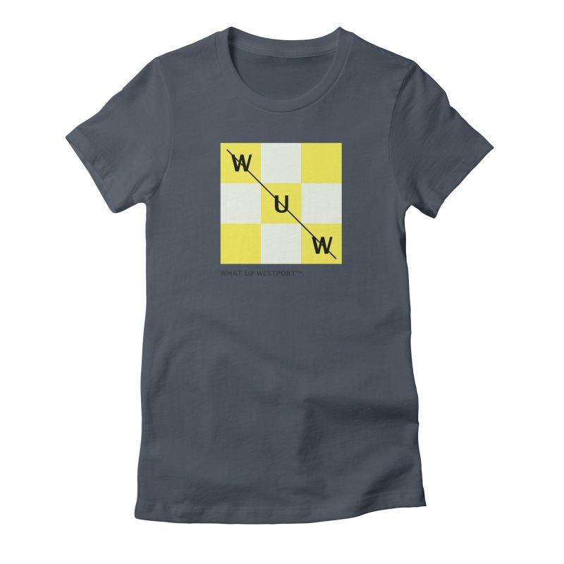 Tic, Tac, Westport Women's T-Shirt by Nat Whitten Incorporated Souvenir Shop & Bazaar