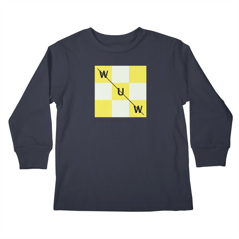 Tic, Tac, Westport Kids Longsleeve T-Shirt by Nat Whitten Incorporated Souvenir Shop & Bazaar