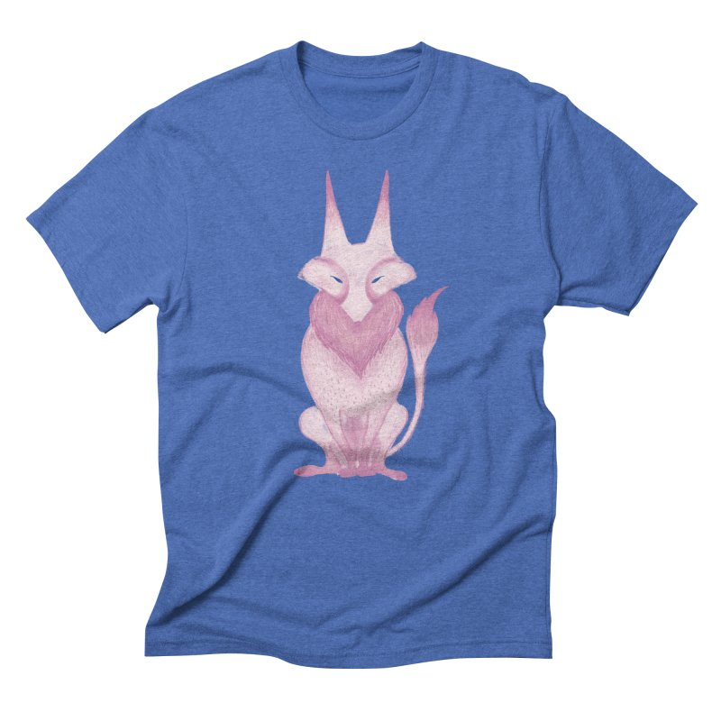 Wolf Men's Triblend T-Shirt by jrbenavente's Shop