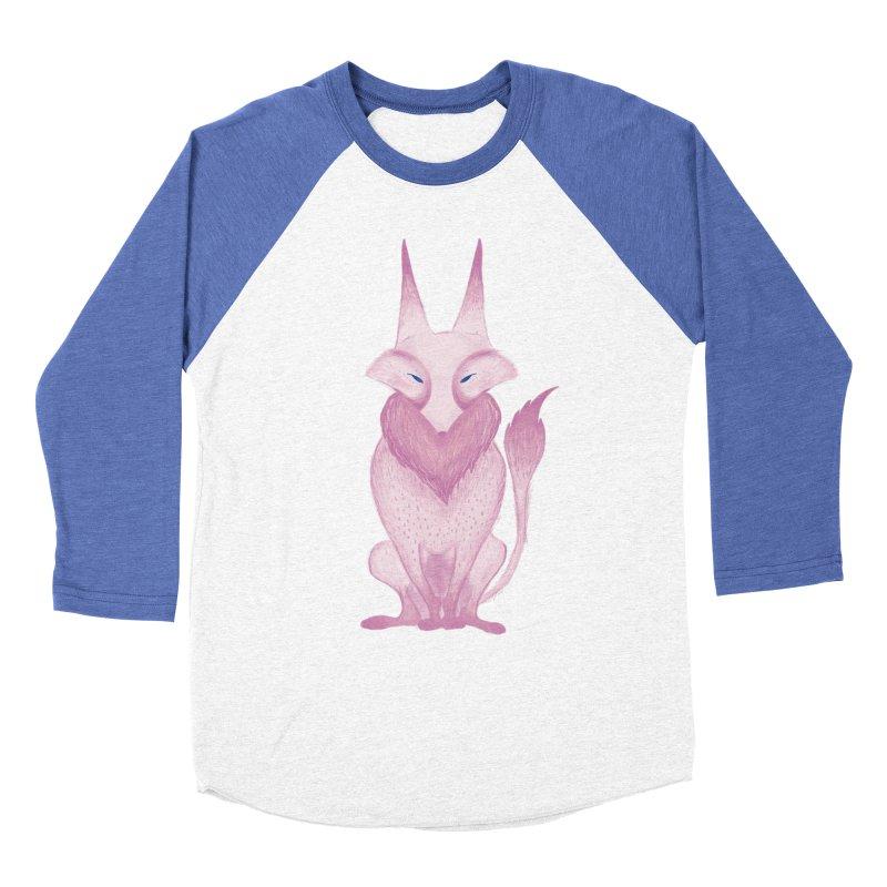Wolf Women's Baseball Triblend T-Shirt by jrbenavente's Shop