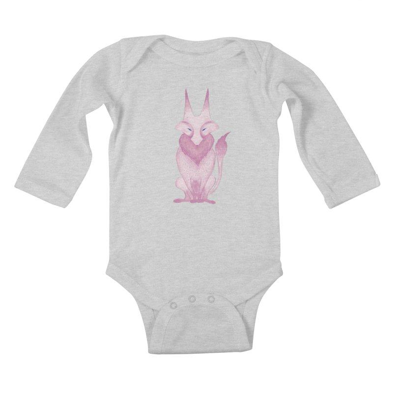 Wolf Kids Baby Longsleeve Bodysuit by jrbenavente's Shop