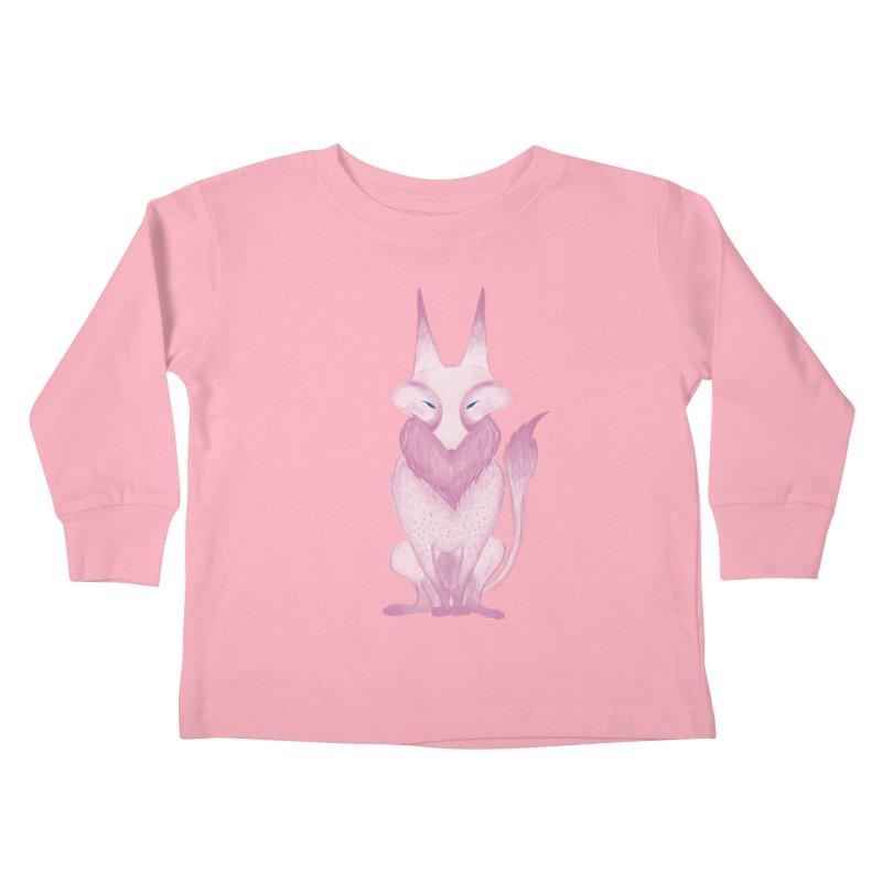 Wolf Kids Toddler Longsleeve T-Shirt by jrbenavente's Shop