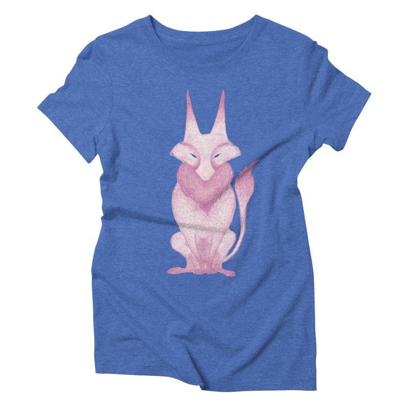 Wolf Women's Triblend T-Shirt by jrbenavente's Shop