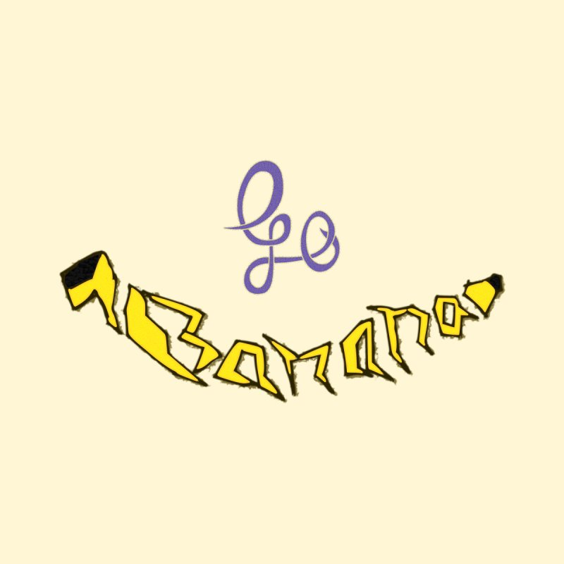 Go Banana Accessories Sticker by navjinderism's Artist Shop
