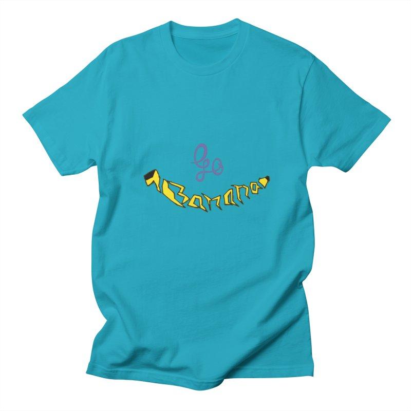 Go Banana Men's T-Shirt by navjinderism's Artist Shop