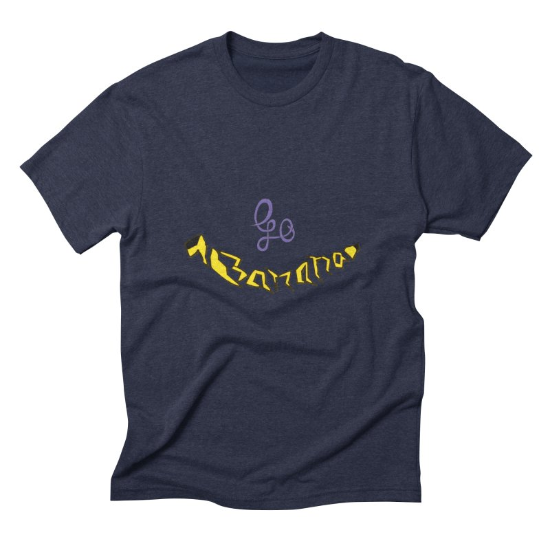 Go Banana Men's Triblend T-Shirt by navjinderism's Artist Shop