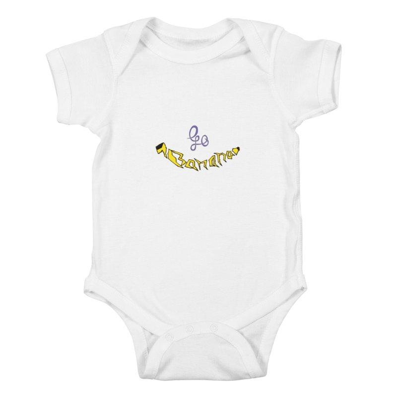 Go Banana Kids Baby Bodysuit by navjinderism's Artist Shop