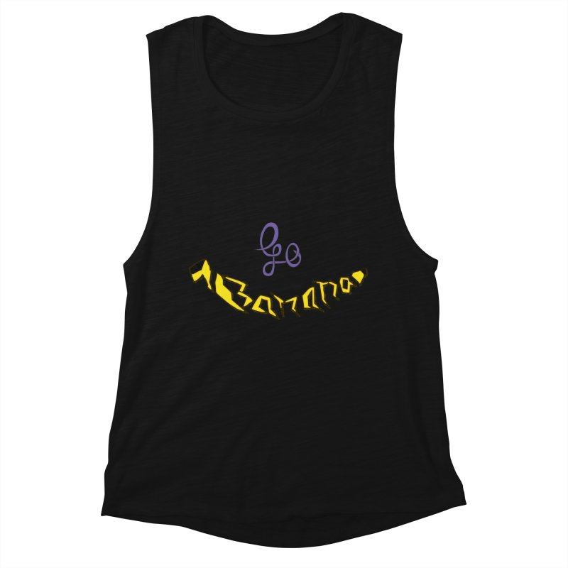 Go Banana Women's Tank by navjinderism's Artist Shop