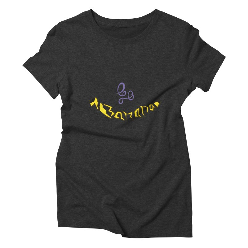 Go Banana Women's Triblend T-Shirt by navjinderism's Artist Shop