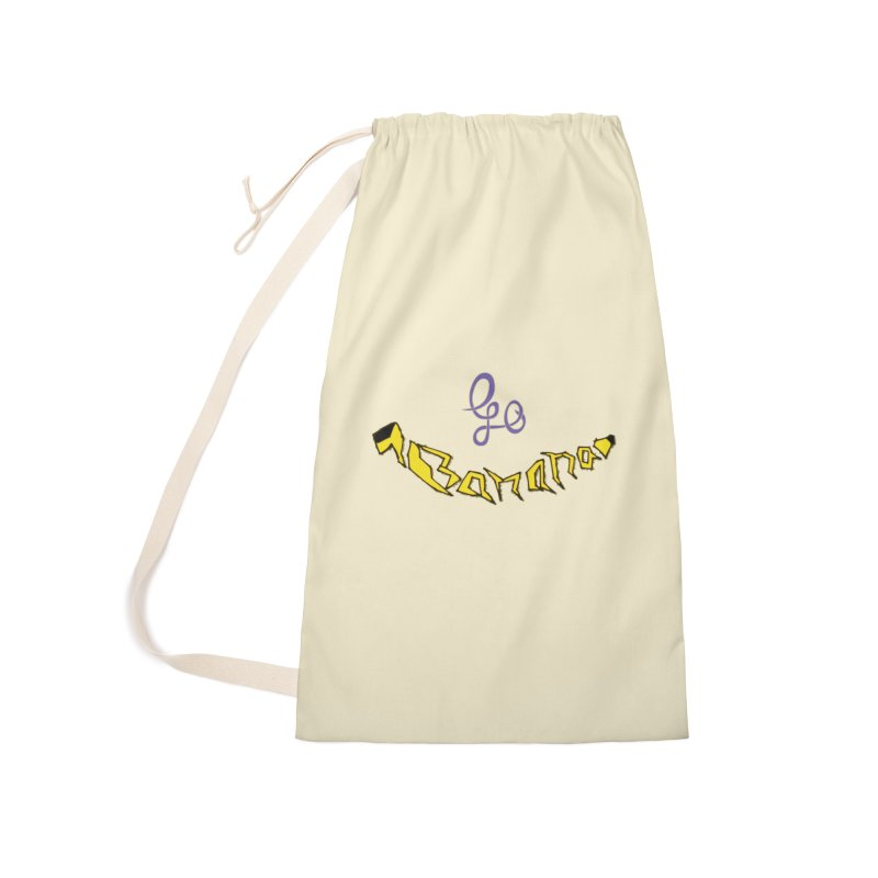 Go Banana Accessories Laundry Bag Bag by navjinderism's Artist Shop