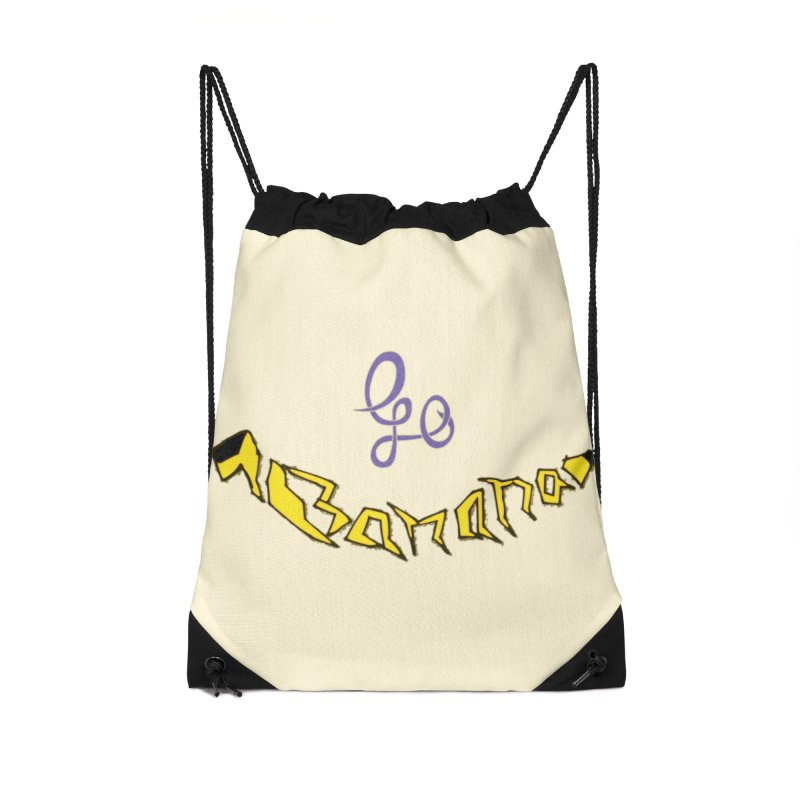 Go Banana Accessories Drawstring Bag Bag by navjinderism's Artist Shop
