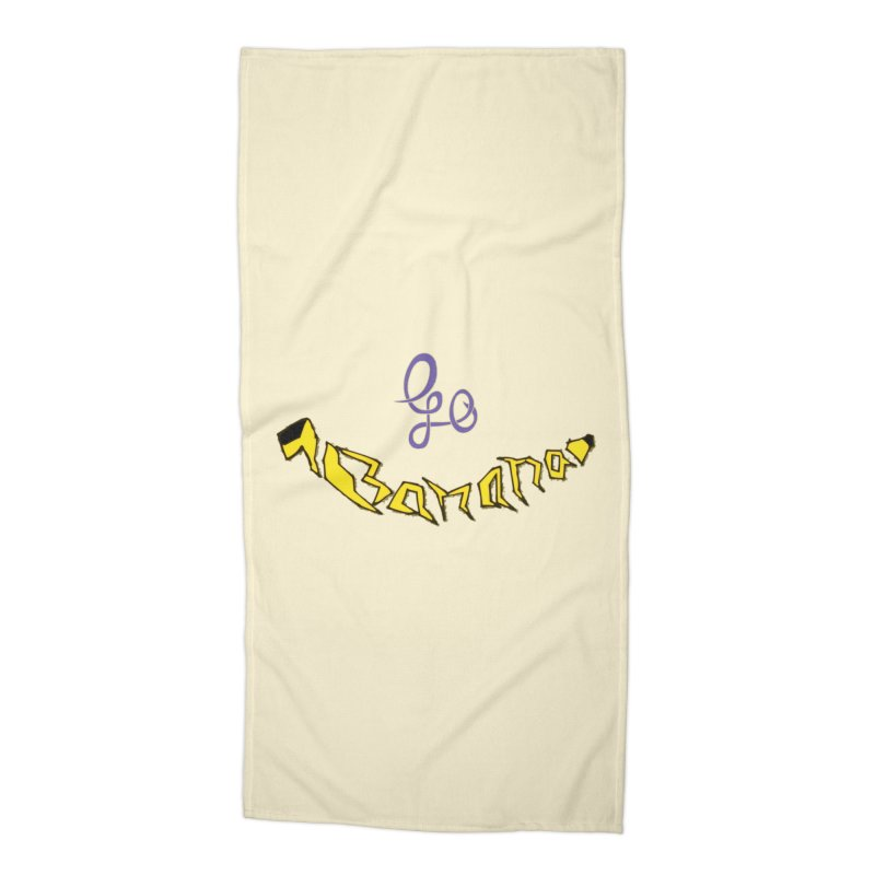 Go Banana Accessories Beach Towel by navjinderism's Artist Shop