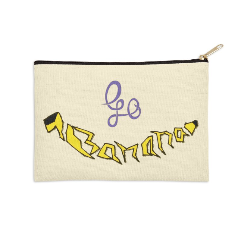 Go Banana Accessories Zip Pouch by navjinderism's Artist Shop