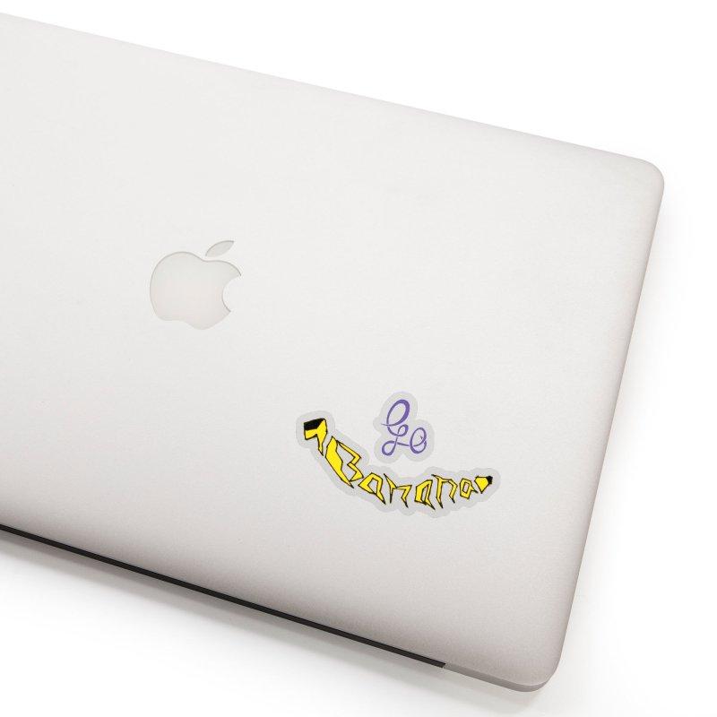Go Banana Accessories Sticker by navjinderism's Artist Shop