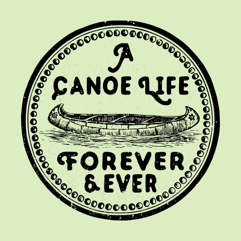 A Canoe Life Men's Sweatshirt by navjinderism's Artist Shop