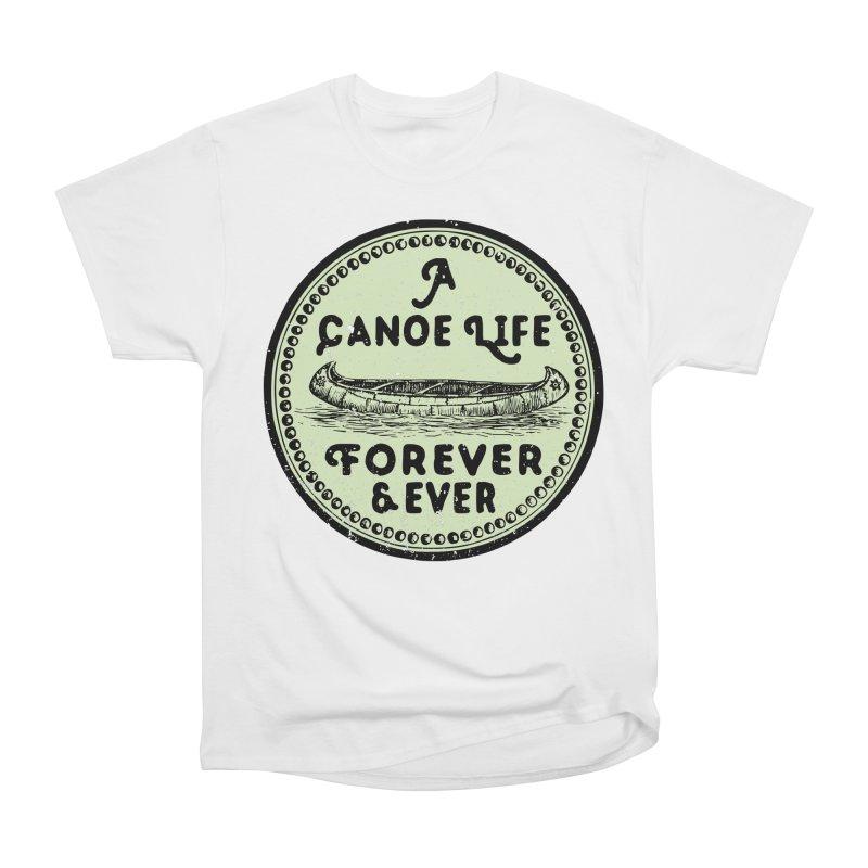 A Canoe Life Women's Heavyweight Unisex T-Shirt by navjinderism's Artist Shop