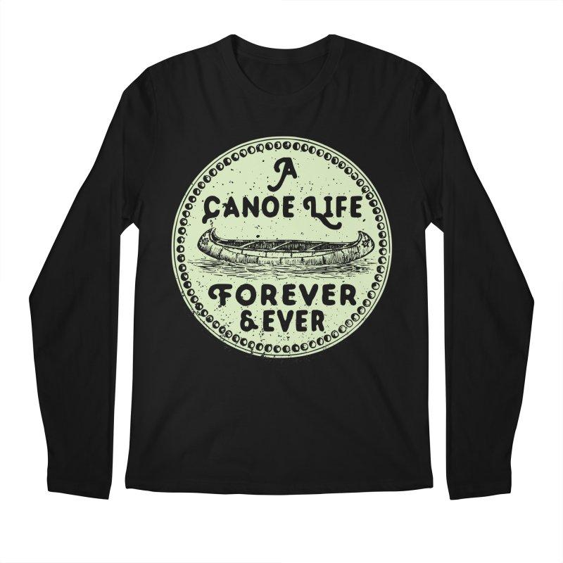 A Canoe Life Men's Longsleeve T-Shirt by navjinderism's Artist Shop