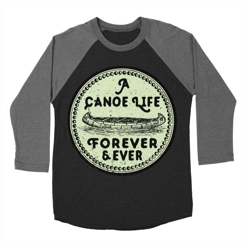 A Canoe Life Men's Baseball Triblend Longsleeve T-Shirt by navjinderism's Artist Shop