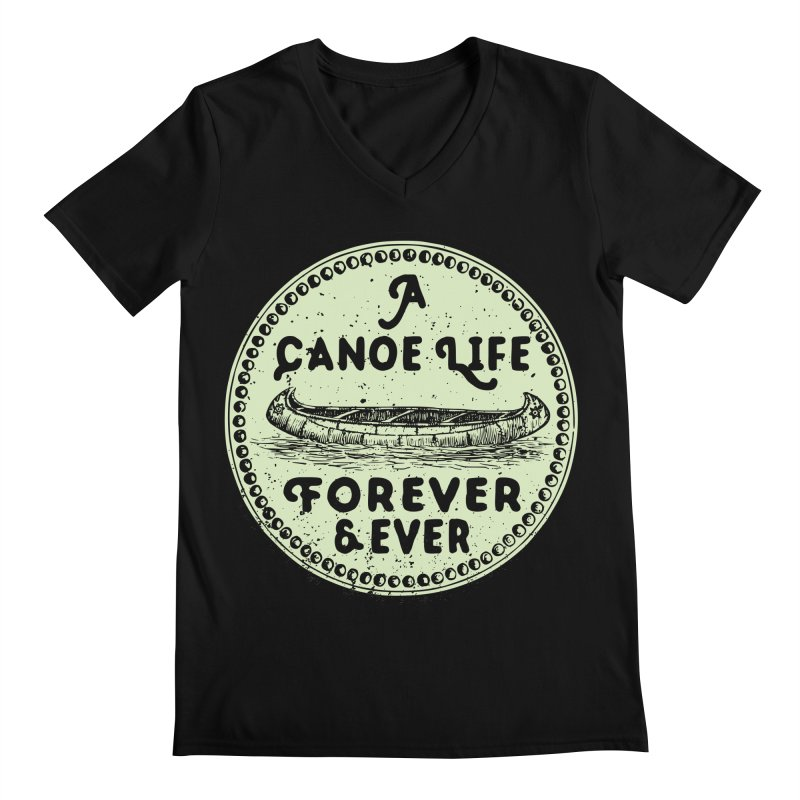 A Canoe Life Men's Regular V-Neck by navjinderism's Artist Shop
