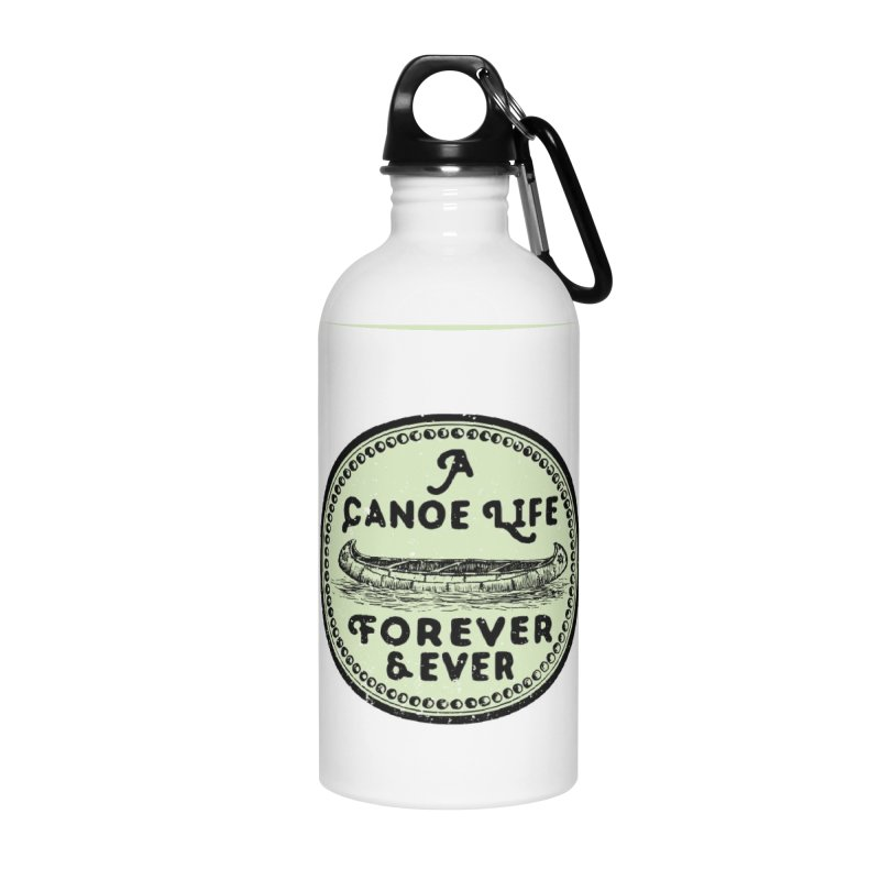 A Canoe Life Accessories Water Bottle by navjinderism's Artist Shop