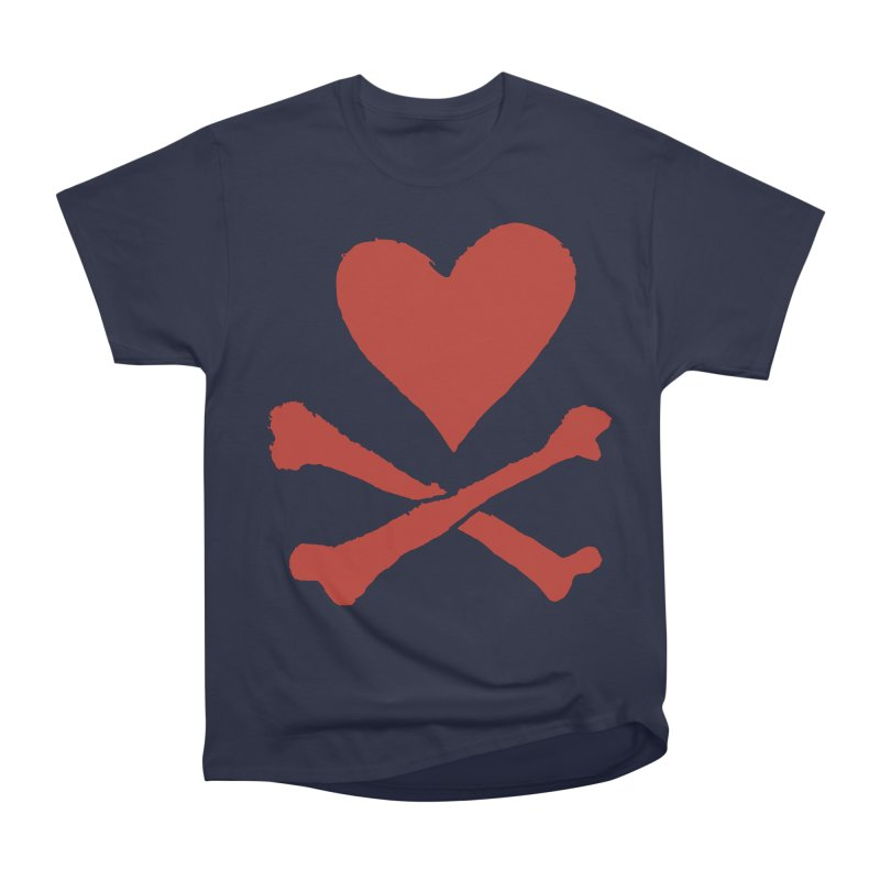 Dangerous Heart Men's Heavyweight T-Shirt by navjinderism's Artist Shop
